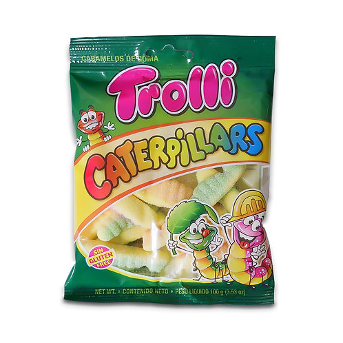 TROLLI CATERPILLARS 100G