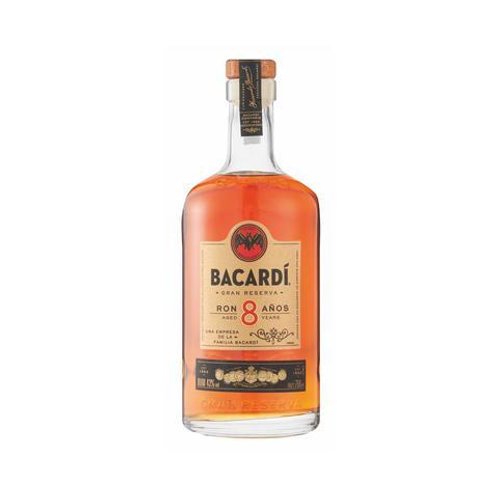 BACARDI RUM 8 YEARS 750ML