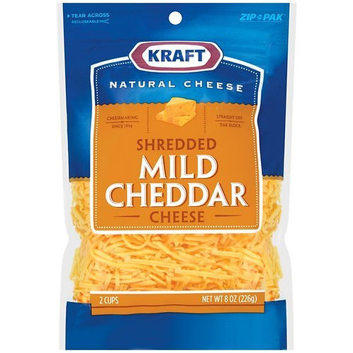 KRAFT MILD CHEDDAR SHREDDED