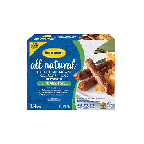 BUTTERBALL BREAKFAST SAUSAGE 8 OZ