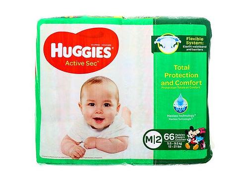 HUGGIES ACTIVE SEC M 2