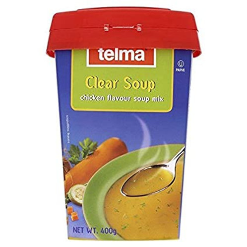 TELMA CHICKEN FLAVOR SOUP 400G