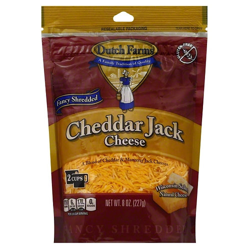 D. FARMS SHREDDED CHEDDAR JACK CHEESE