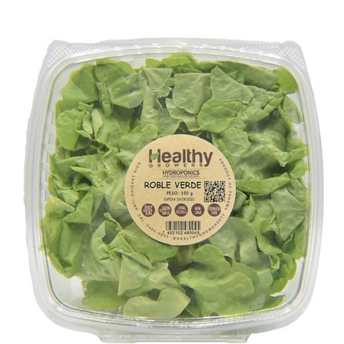 HEALTHY GROWERS LECHUGA ROBLE VERDE 100G