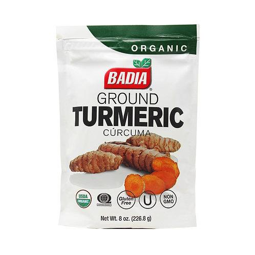 Badia Organic Ground Turmeric 8oz