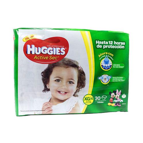 HUGGIES ACTIVE SEC XG 4
