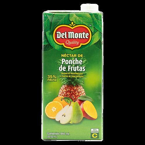 DEL MONTE NECTAR DE PONCHE DE FRUTAS 946ML