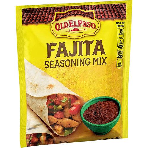 OLD EL PASO FAJITA SEASONING MIX