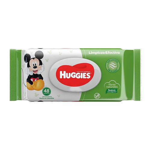 HUGGIES WIPES LIMPIEZA EFECTIVA