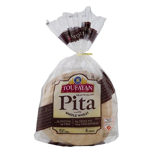 TOUFAYAN PITA WHOLE WHEAT 340G