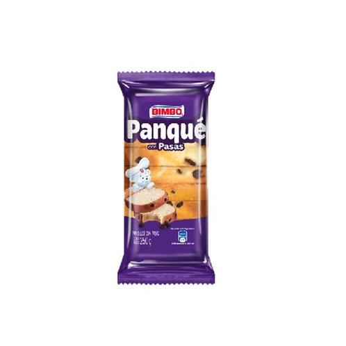 BIMBO PANQUE CON PASAS 250G