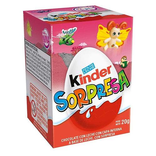 KINDER SORPRESA NINA 20G