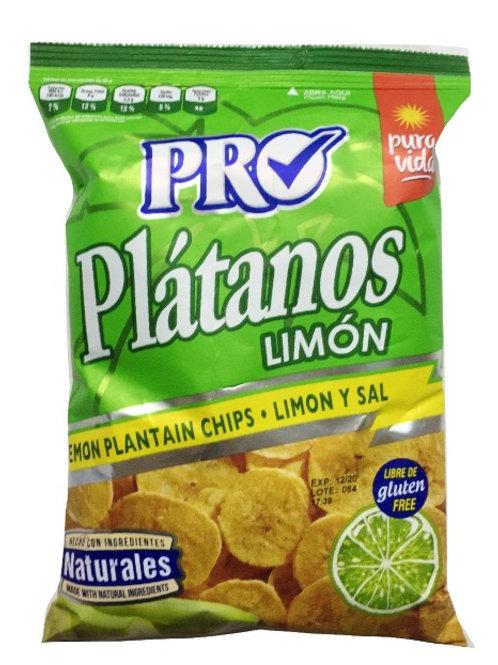 PRO PLATANOS LIMON 85G