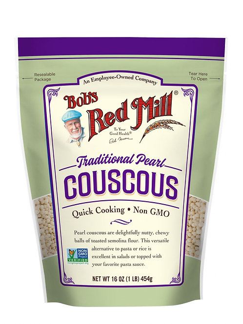 BOBS RED MILL TRADITIONAL PEARL COUSCOUS 454G