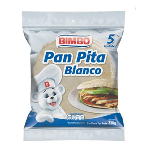 Bimbo Pan Pita Blanco 380g