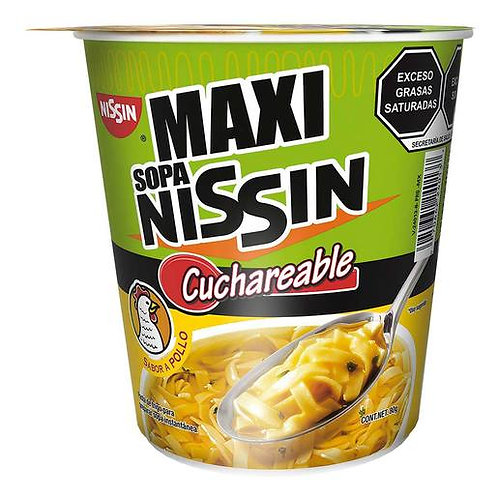NISSIN MAXI SOUP CHICKEN 80G