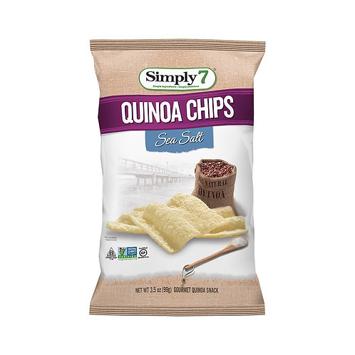 SIMPLY 7 Quinoa Chips Sea Salt 99g