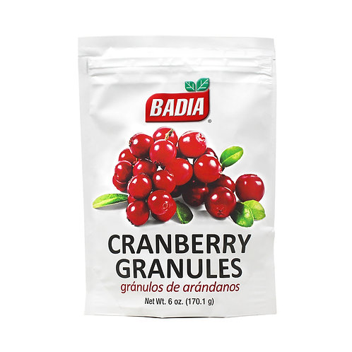 Badia Cranberry Granules 170g