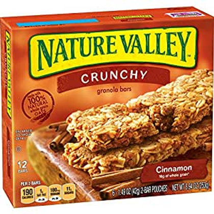 NATURE VALLEY GRANOLA BARS CINNAMON