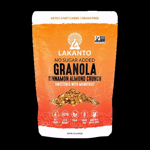 Lakanto Granola Cinnamon Almond Crunch