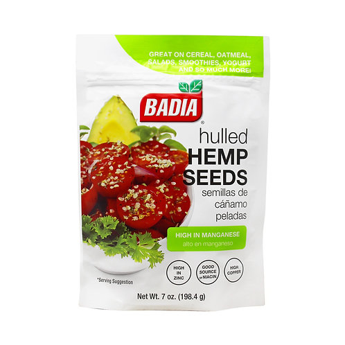Badia Hulled Hemp Seed 7oz