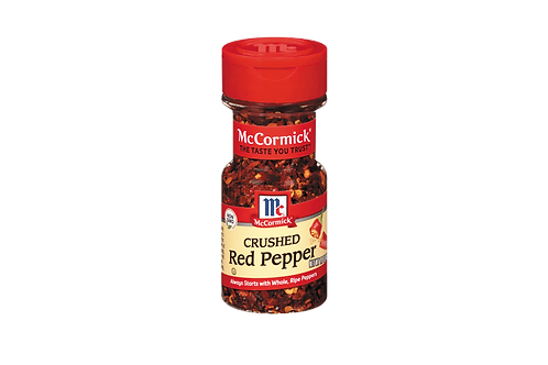 MCCORMICK CRUSHED RED PEPPER 42G
