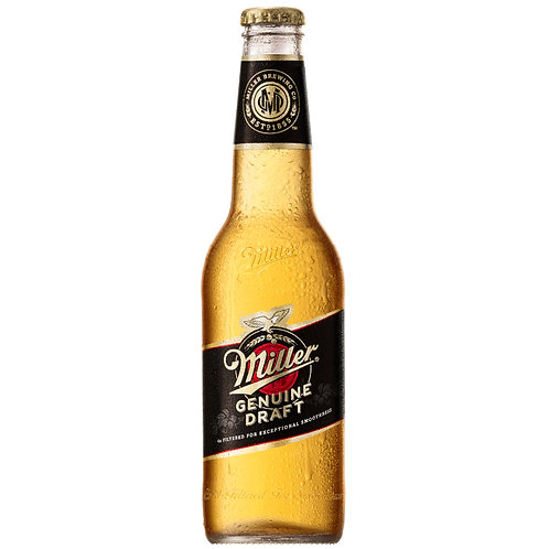 MILLER GENIUNE DRAFT 355ML