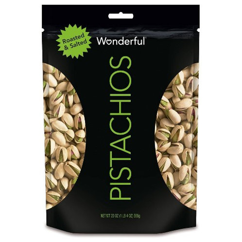 WONDERFUL PISTACHIOS ROASTED & SALTED 35G