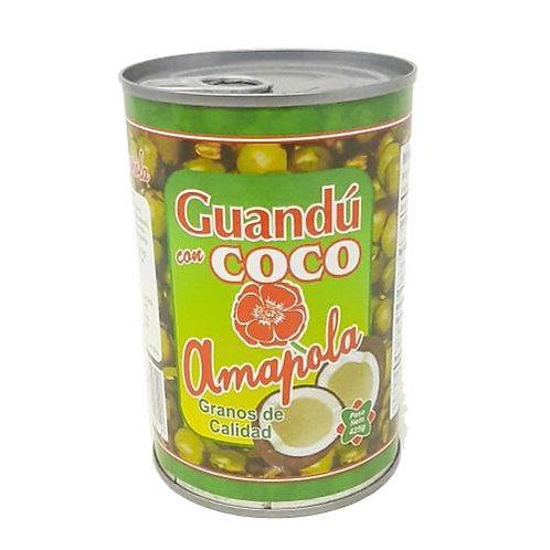 AMAPOLA GUANDU CON COCO 425G
