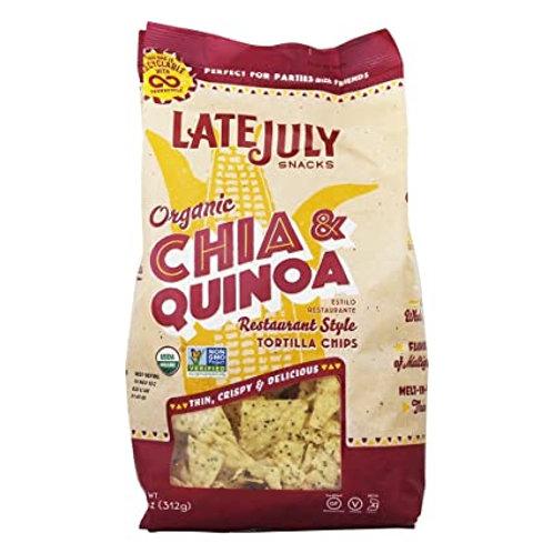 LATE JULY CHIA & QUINOA TORTILLA CHIPS