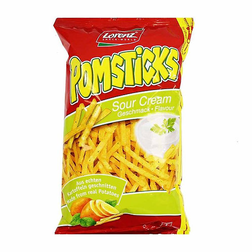 LORENZ POMSTICKS SOUR CREAM 100G