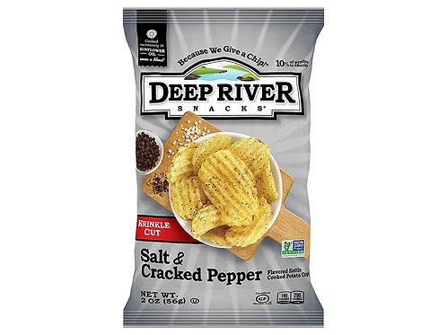 Deep River Salt and Cracked Pepper 56g
