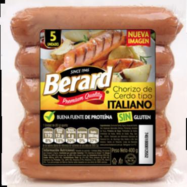 BERARD CHORIZO ITALIANO 400G