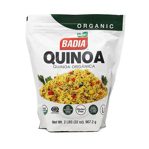 Badia Organic White Quinoa 2LB
