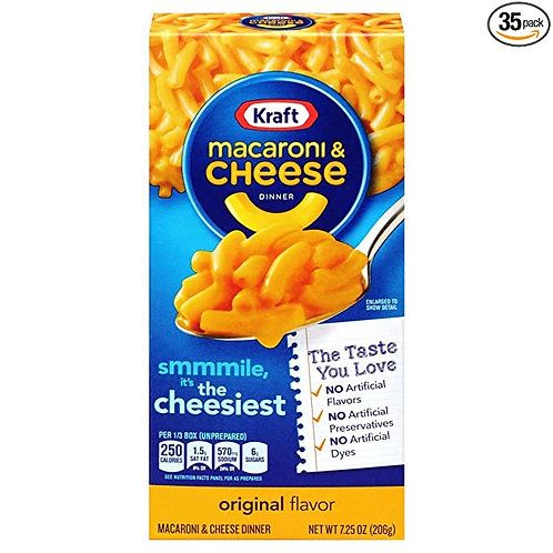 KRAFT MAC&CHEESE ORIGINAL