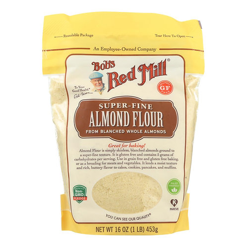 BOBS RED MILL GF SUPER-FINE ALMOND FLOUR 453G