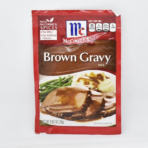 MCCORMICK BROWN GRAVY MIX 24G