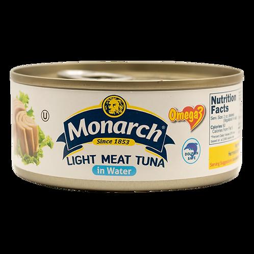 Monarch Light Tuna Meat In Water 160g