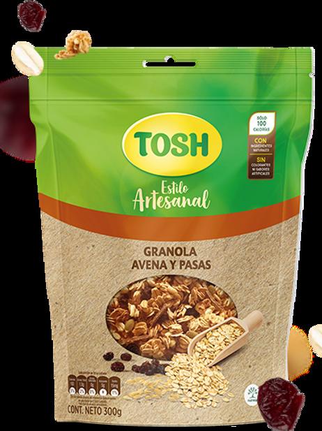 TOSH OATMEAL & RAISINS GRANOLA 300G