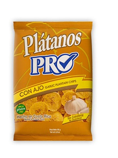 PRO PLATANOS AJO 85G