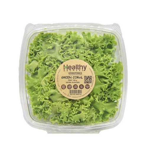 HEALTHY GROWERS LECHUGA GREEN CORAL 100G