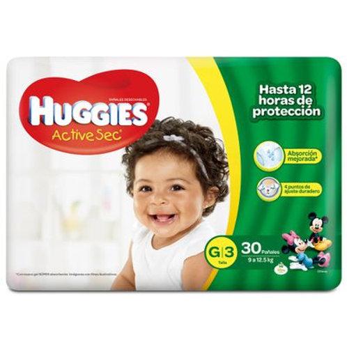 HUGGIES ACTIVE SEC G 3