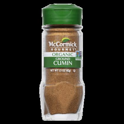 MCCORMICK CUMIN ORGANIC