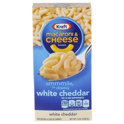KRAFT MAC&CHEESEWHITE CHEDDAR