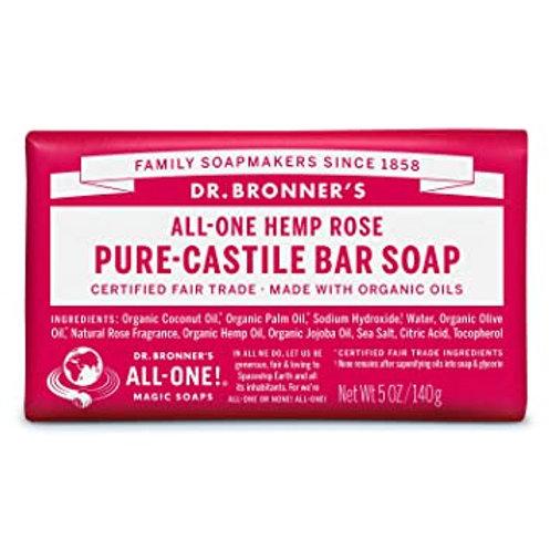 DR. BRONNERS ROSE SOAP BAR