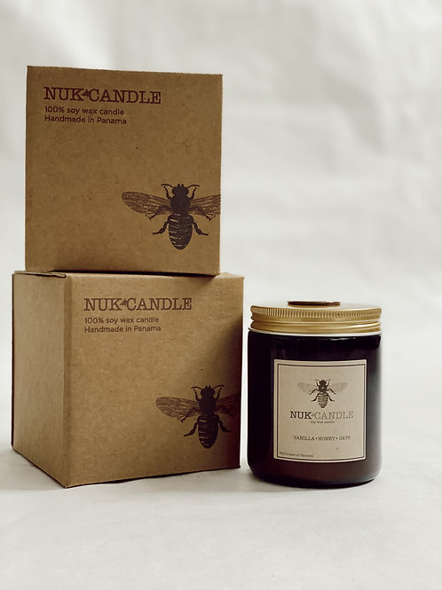 Nuk Soy Wax Candle Vanilla Honey Oats