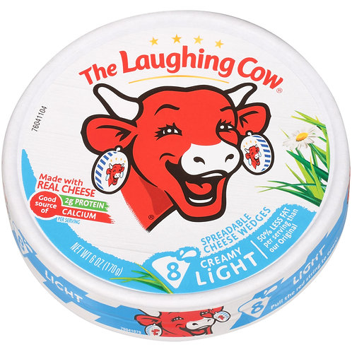 THE LAUGHING COW CREAMY LIGHT