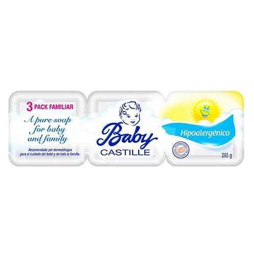 BABY CASTILLE JABON 3-PACK