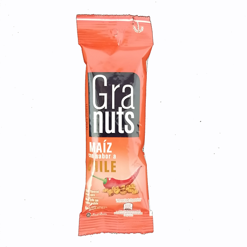 GRANUTS MAIZ SABOR CHILE 40G