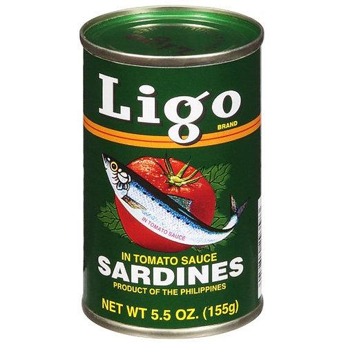 LIGO SARDINES IN TOMATO SAUCE